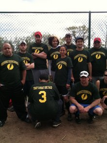 Green Thunder Softball 2011 T-Shirt Photo