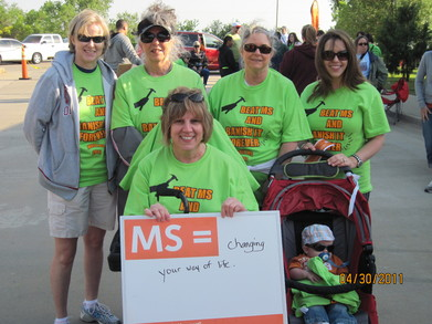 Ms Walk Okc 2011 T-Shirt Photo