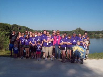 2011 Great Strides Walk  T-Shirt Photo