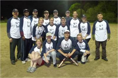 Rocket Software Softball Team T-Shirt Photo