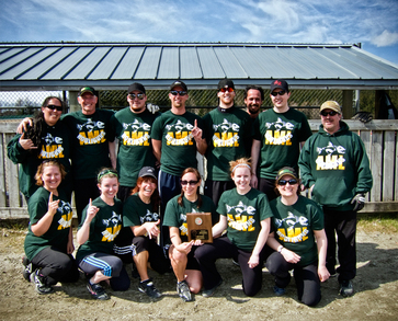 Hooligun Softball Team From Alaska T-Shirt Photo