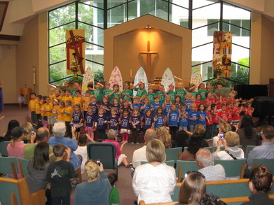 Mission Lutheran School Spring Sing 2011 T-Shirt Photo