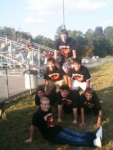 Powder Puff Cheerleaders T-Shirt Photo