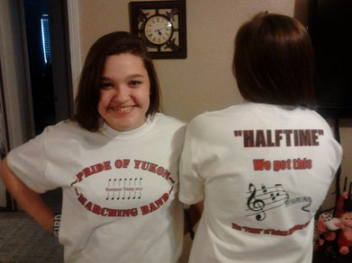My 2 Band Girls T-Shirt Photo