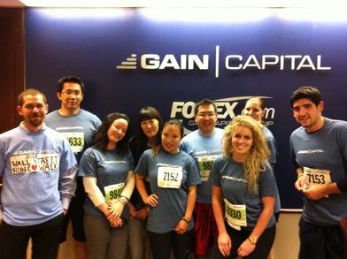 Wall Street 3.1 Run And Heart Walk T-Shirt Photo