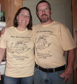 Beer Run Association T-Shirt Photo