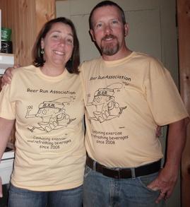 Beer Run Association T-Shirt Photo
