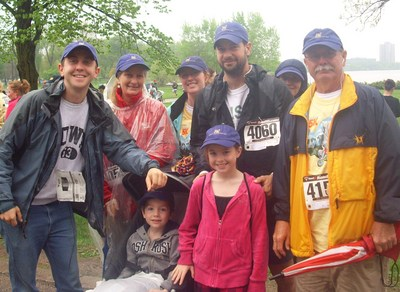 Daniel's Determination Walking For Autism. T-Shirt Photo