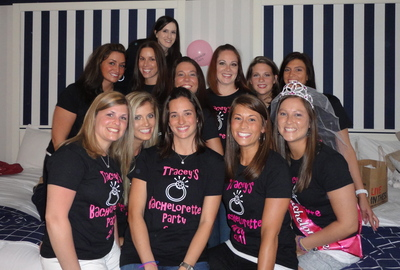 Tracey's Bachelorette Party T-Shirt Photo