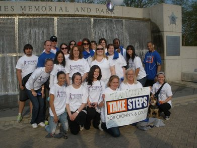 Chron's And Colitis Walk T-Shirt Photo