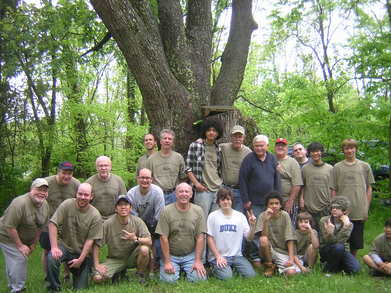 Fathers, Sons, Friends, Fishing Weekend. T-Shirt Photo