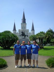 """Let Go"" In New Orleans! T-Shirt Photo"