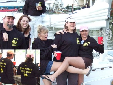 Silly Sailors At Payc 3rd Annual Treasure Hunt T-Shirt Photo