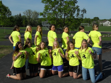 Senior Ladies Reppin' The Senior Shirts T-Shirt Photo