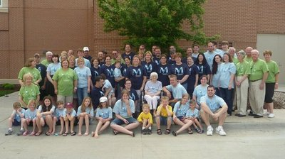 40th Annual Martin Family Reunion T-Shirt Photo