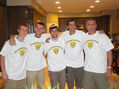 League Champs Presentation T-Shirt Photo