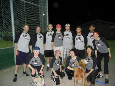Mad Batters Softball Team T-Shirt Photo