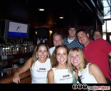Cool Happy Hours.Com Street Team! T-Shirt Photo