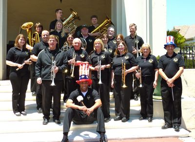 "Memorial Day Concert   ""Semper Musica!""  (Always Music!) T-Shirt Photo"