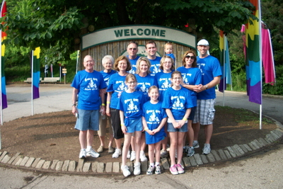 Glenn's Gang At The Pittsburgh Liver Walk T-Shirt Photo