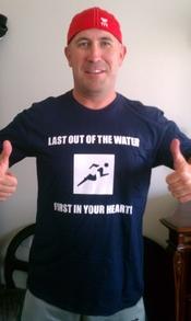 Aquaman Swims Again!!!! T-Shirt Photo