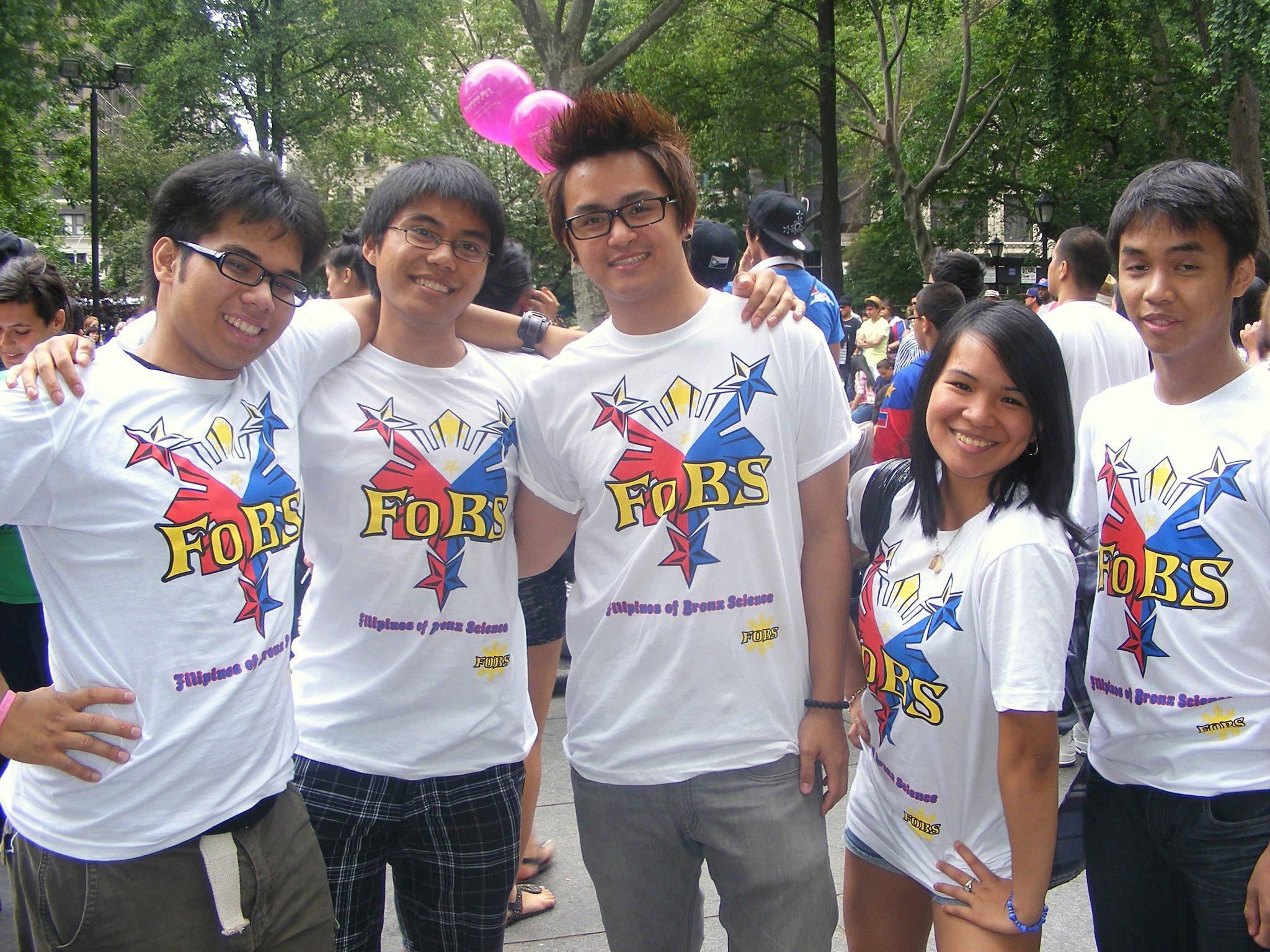 Design t shirt for group - Fo Bs At Filipino Day Parade T Shirt Photo