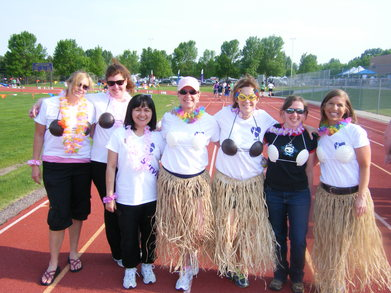 Luau For The Relay For Life T-Shirt Photo