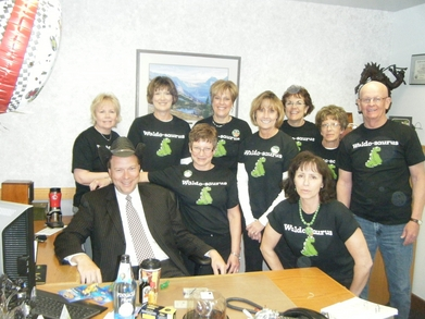 First Security Bank Celebrates T-Shirt Photo