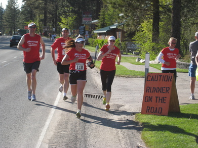 Agate Bay All Stars Run The Lake Tahoe Tahoe Relay T-Shirt Photo