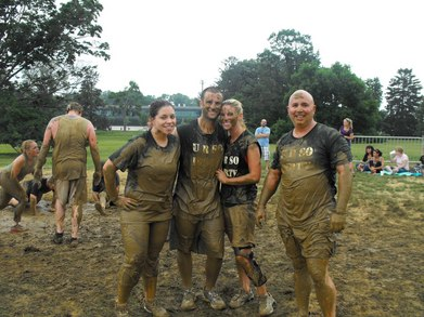 We Got Dirty For A Good Cause!!   T-Shirt Photo