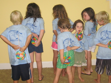 Delray Beach Club Kids Camp 1b T-Shirt Photo