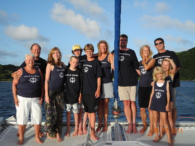 Bvi Family Sail 2011 T-Shirt Photo