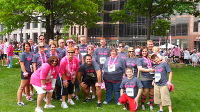 Mo's Melon's Race For The Cure Team T-Shirt Photo