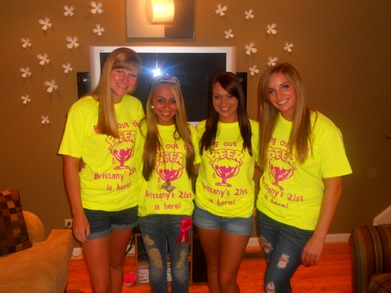 Brittany's 21st Birthday! T-Shirt Photo