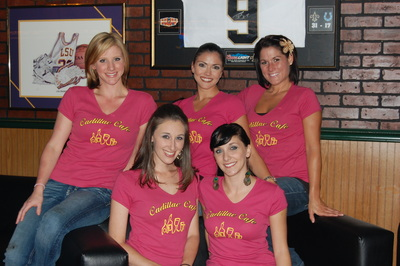 Cadillac Cafe Bartenders T-Shirt Photo