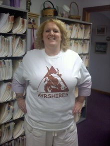 Alberding's Ayrshires T-Shirt Photo