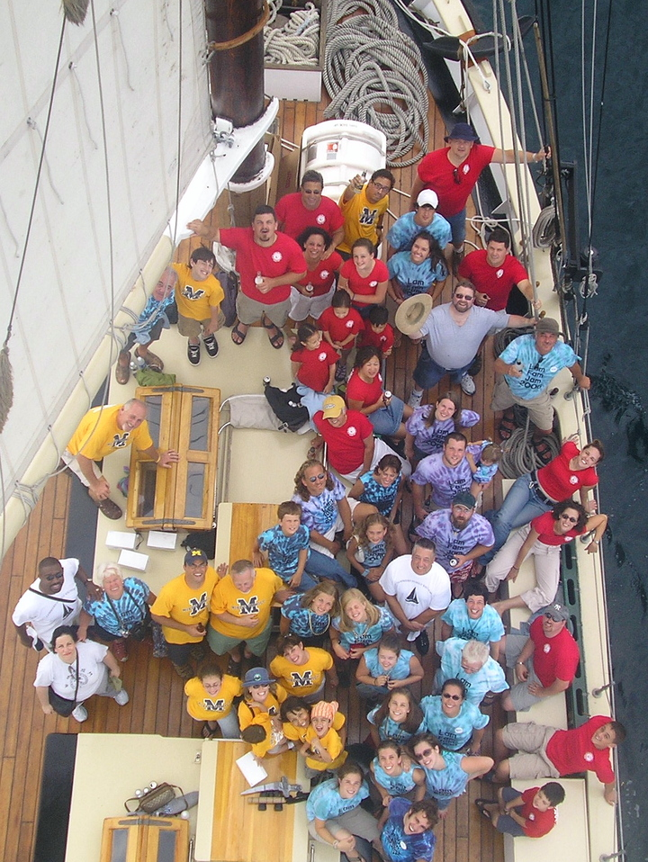 Lam Fam Jam Schooner Trip July 29, 2006 T-Shirt Photo