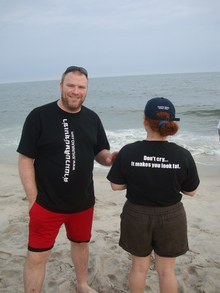 """Khun Kao Gym"" At Jones Beach In Long Island, Ny T-Shirt Photo"