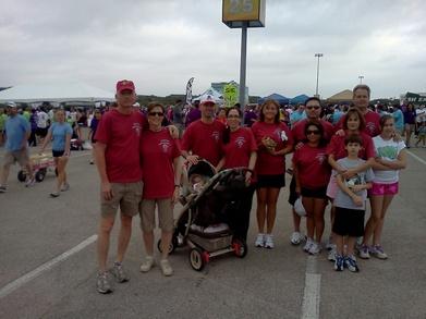 March Of Dimes Team Photo T-Shirt Photo