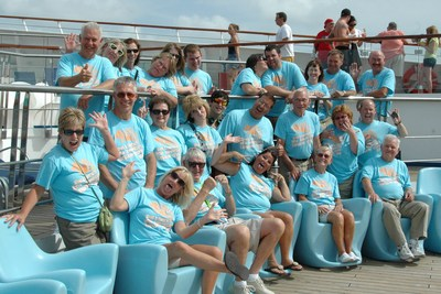 Kent & Cheryl's 25th Anniversary Cruise T-Shirt Photo