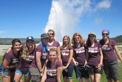 Adventure Girlz In Yellowstone T-Shirt Photo