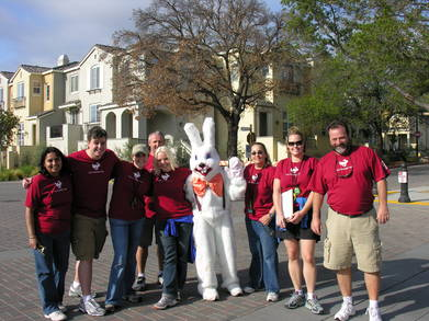Cupertino Big Bunny Fun Run T-Shirt Photo