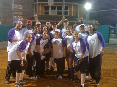 Ofm Softball Champions T-Shirt Photo