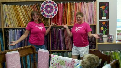 Colorful Quilters! T-Shirt Photo