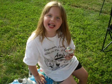 Katelynn At The Susquehanna County Relay For Life T-Shirt Photo