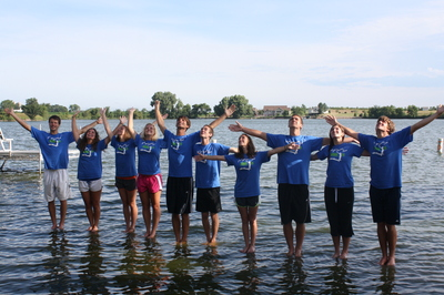 Camp Staff Give Praise T-Shirt Photo