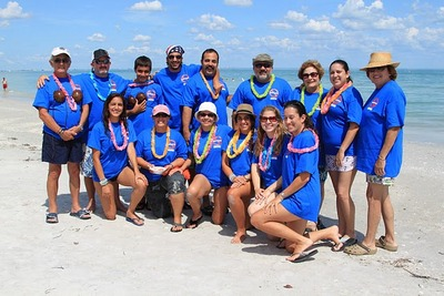 Rad Dream Foundation In Sanibel! T-Shirt Photo