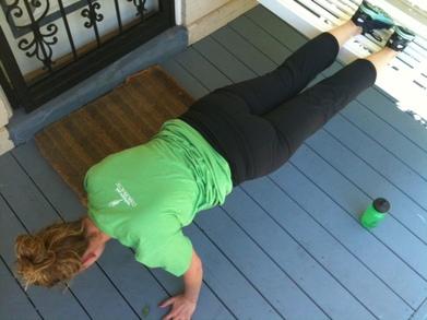 Planking T-Shirt Photo