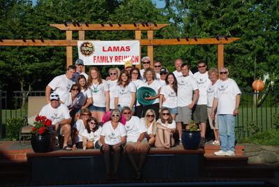 Lamas Family Reunion T-Shirt Photo