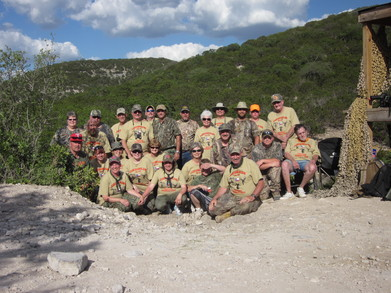 Camo Ramo Slamo Hunt 2011 T-Shirt Photo